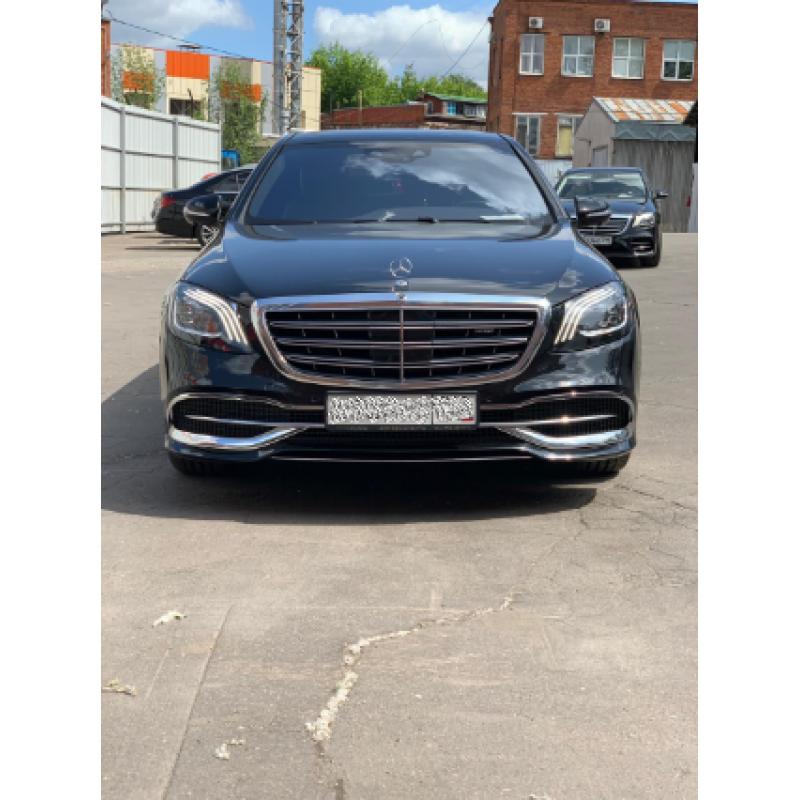 Mercedes S-Classe Maybach 2017 бежевый салон