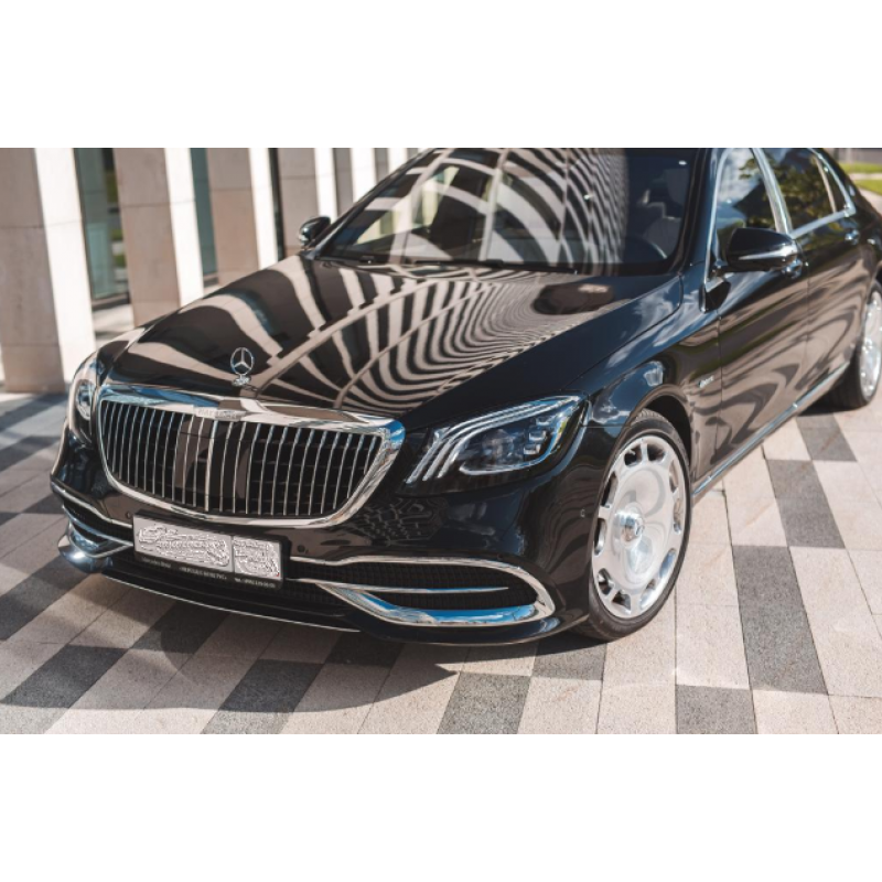 Mercedes S-Classe Maybach 2018 белый салон