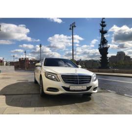 Аренда Mercedes S-Classe Maybach 2017 белый с водителем