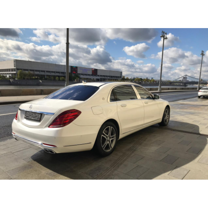 Mercedes S-Classe Maybach 2017 белый