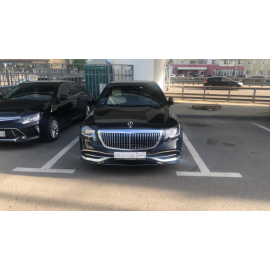 Аренда Mercedes S-Classe Maybach 2018 рестайлинг с водителем